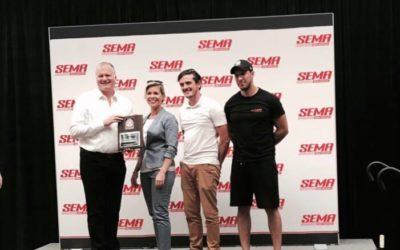 PRODUCT AWARD AT SEMA 2017