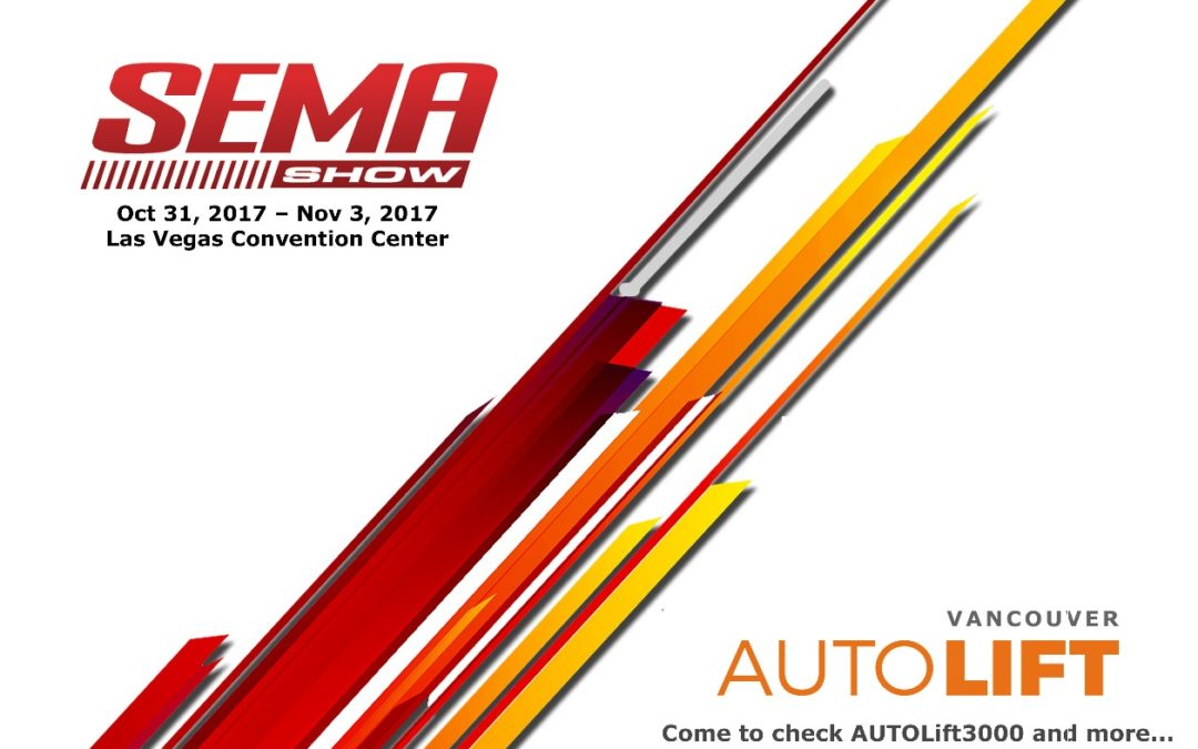 WE EXHIBIT AT SEMA